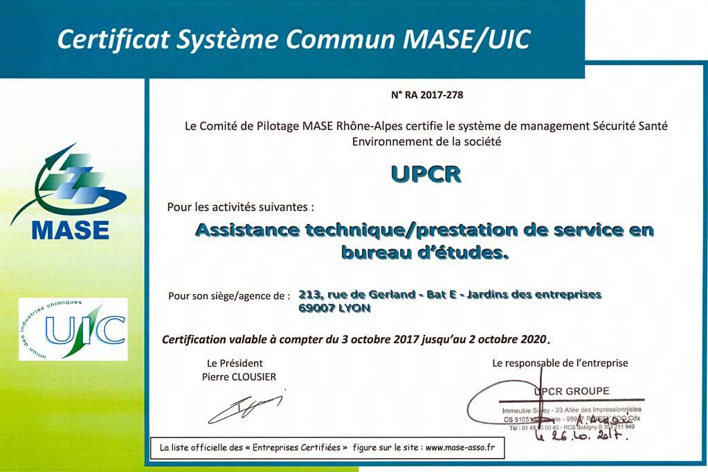 upcr-certificat-mase-sse-danger-zero-accident