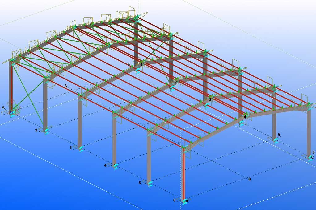 upcr-ingenierie-industrielle-construction-metallique-structure-etude-tekla